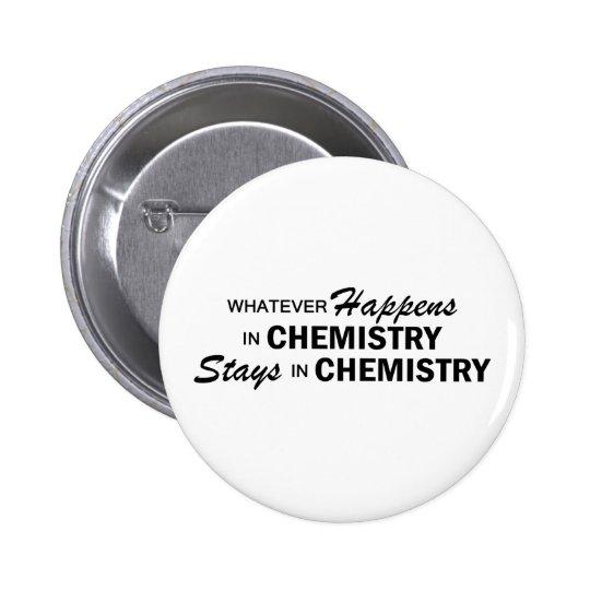 Whatever Happens - Chemistry 6 Cm Round Badge