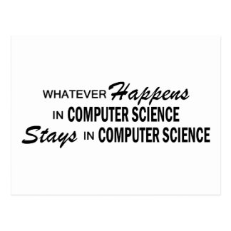 Whatever Happens - Computer Science Postcard