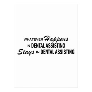 Whatever Happens - Dental Assisting Postcard