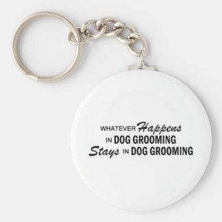 Whatever Happens - Dog Grooming Key Ring