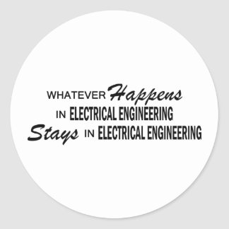 Whatever Happens - Electrical Engineering Stickers