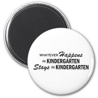 Whatever Happens - Kindergarten 6 Cm Round Magnet