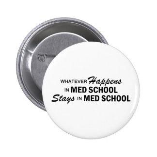 Whatever Happens - Med School 6 Cm Round Badge