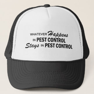 Whatever Happens - Pest Control Trucker Hat