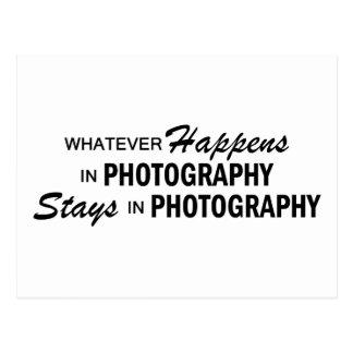 Whatever Happens - Photography Postcard