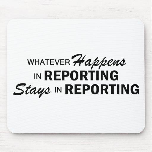 Whatever Happens - Reporting Mousepad