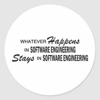 Whatever Happens - Software Engineering Stickers
