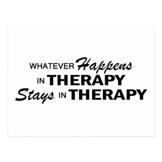 Whatever Happens - Therapy Postcard