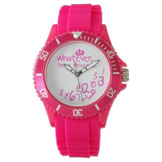 whatever, I'm a princess Wristwatch
