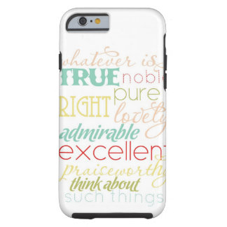 "whatever is true iPhone 6 case- ""retro kitchen"" Tough iPhone 6 Case"