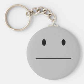 Whatever Basic Round Button Key Ring