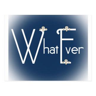 Whatever-Kilroy Postcard