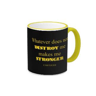 WHATEVER RINGER COFFEE MUG