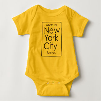 Whatever, New York City forever. Baby Bodysuit