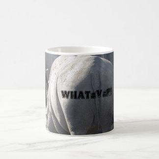 Whatever Rhino Coffee Mug