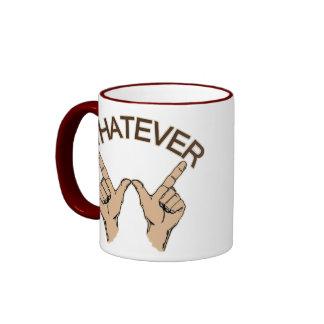 Whatever Ringer Mug