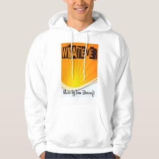 Whatever/rising sun hoodie