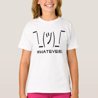 """""""Whatever"""" Shrug Emoji T-Shirt"""