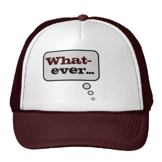 Whatever Thinking Bubble Hat