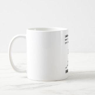 Whatever You Say is Irrelephant Elephant Coffee Mug