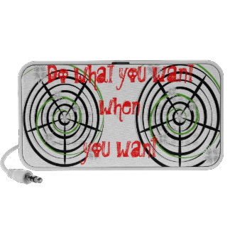 whatever you want notebook speakers