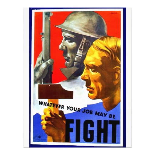 Whatever Your May Be Fight Flyers