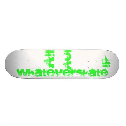 WhatEverSKATE Board Skate Board Decks