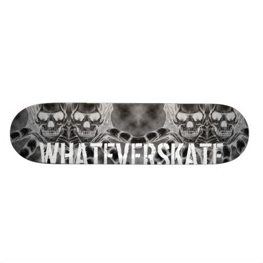 WhatEverSKATE Board Skate Deck
