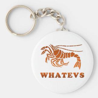 Whatevs Keychain