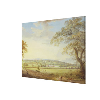 Whatman Turkey Mill in Kent, 1794 (gouache, bodyco Canvas Print