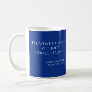 What's a script---coffee stains? Mug