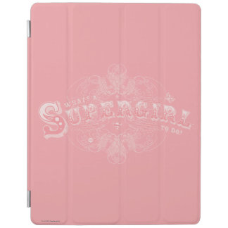 What's a Supergirl to Do Pink iPad Cover