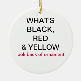 What's Black, Red & Yellow Germany Flag Ornament
