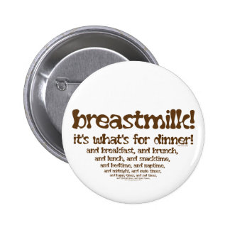 What's for Dinner 6 Cm Round Badge