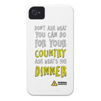 What's for Dinner? by GeekZone iPhone 4 Case