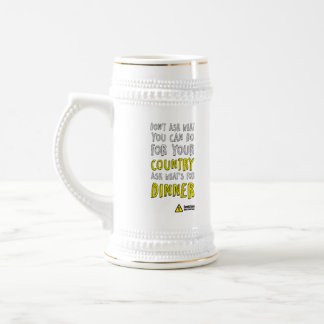 What's for Dinner? by GeekZone Beer Steins