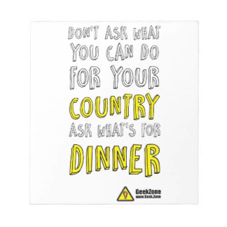 What's for Dinner? by GeekZone Notepad