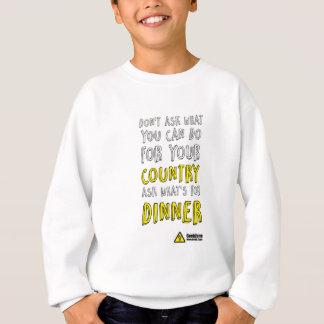 What's for Dinner? by GeekZone Sweatshirt