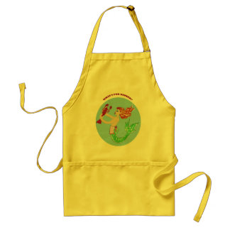 what's for dinner mermaid apron