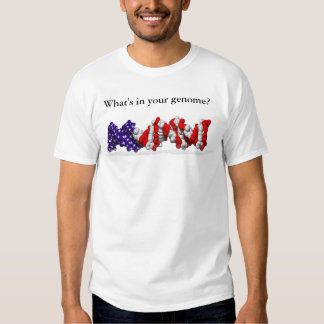 What's in your genome? - question on shirt