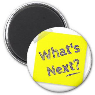 What's next? 6 cm round magnet