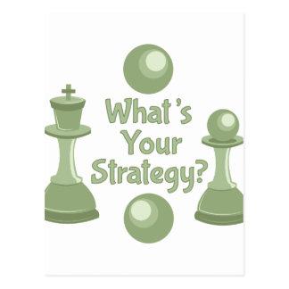 Whats Strategy Postcard