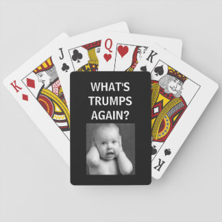 WHATS TRUMPS AGAIN - PLAYING CARDS