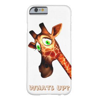 Whats up giraffe phone cases