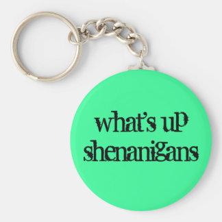 what's up shenanigans key ring