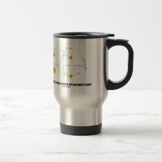 What's Your Angular Momentum? (Physics Diagrams) Travel Mug