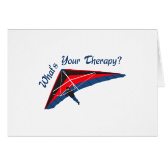 Whats Your Therapy Greeting Card