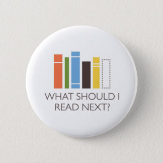 WhatShouldIReadNext.com merchandise 6 Cm Round Badge