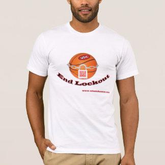 "¿WHAT'Z DA COUNT? ""End Lockout""  Basketball Season T-Shirt"