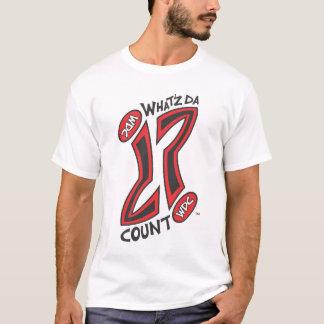 WHAT'Z DA COUNT OG QUESTION MARK LOGO T-Shirt